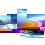 Abstract sky layout — Stock Photo