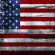 Grunge American flag — Stock Photo #5989113