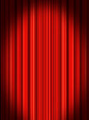 Stage curtains — Stock Photo