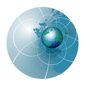 Ilustración de globo — Foto de Stock