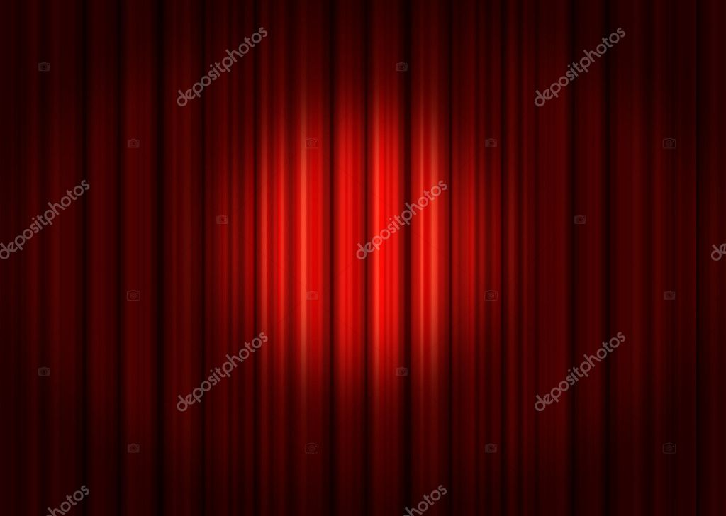 Red drapes — Stock Photo #5981289