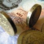 English money — Stock Photo