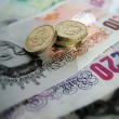 Stock Photo: English money