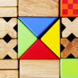 Stock Photo: Play building blocks