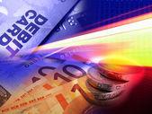 Debit transaction — Stock Photo