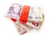 English banknotes — Stock Photo