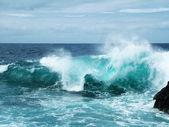 Rough sea — Stock Photo