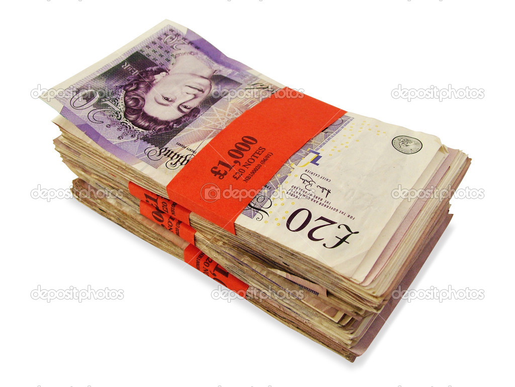 English banknotes — Stock Photo #6003982