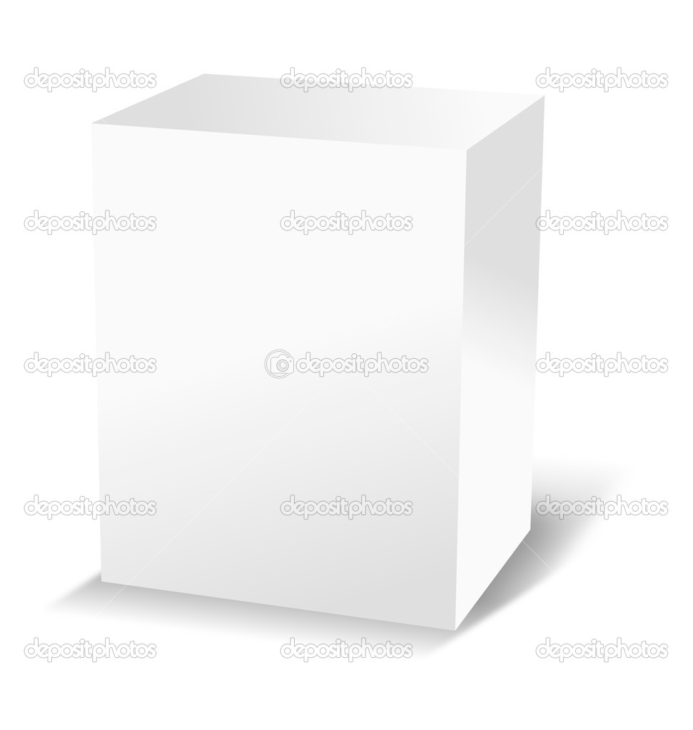 White box — Foto Stock #6007526