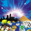 Casino collage — Stock Photo #6011568