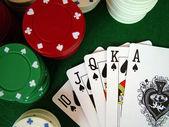 Jogo de cartas — Fotografia Stock
