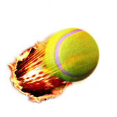Tennis shot — Stock Photo