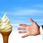 tentador helado — Foto de Stock