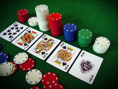 Kortspel — Stockfoto