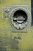 Military fuel cap — Stock Photo