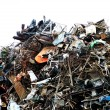 Scrap metal — Stock Photo