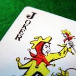 Joker card — Stock Photo #6032022