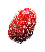 Finger print — Stock Photo