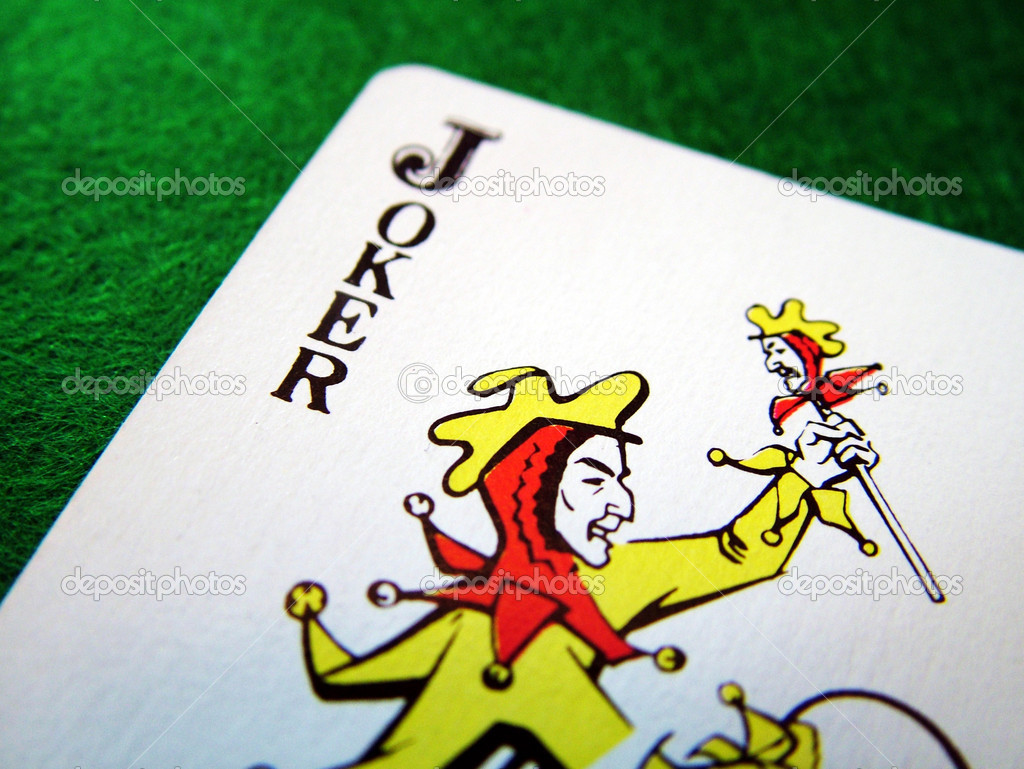 Joker card — Stock Photo #6032022