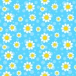 Royalty-Free Stock ベクターイメージ: White flowers background