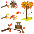 Royalty-Free Stock Imagen vectorial: Set of nature elements