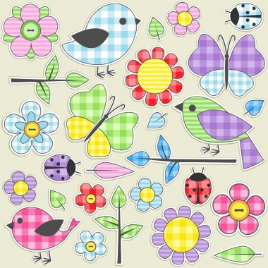Textile stickers