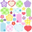 Royalty-Free Stock Imagen vectorial: Scrapbook elements