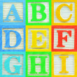 Alphabet (1) — Stock Photo