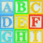 Alphabet (1) — Stock Photo