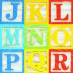 Alphabet (2) — Stock Photo