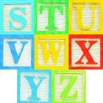 Alphabet (3) — Stock Photo