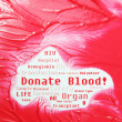 Donate blood concept - Stock Photo