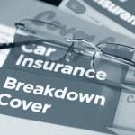 Car insurance — Stock Photo