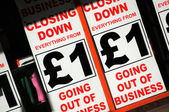 банкротство — Стоковое фото