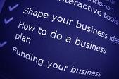 Business advice — Stock Photo