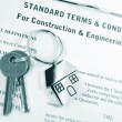 Construction terms — Stock Photo