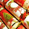 Stock Photo: Christmas crackers