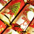 Christmas crackers — Stock Photo