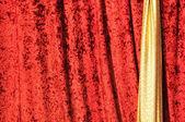 Rideau rouge — Photo