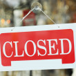 Closed sign — Stock Photo #6202521