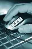 Chat online — Stock Photo