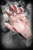 Helping hand — Stock Photo