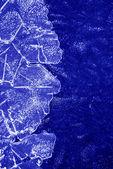 Textura de gelo — Foto Stock