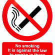 Royalty-Free Stock Photo: No smoking