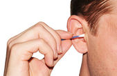 Ear hygiene — Stockfoto