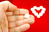 Heart disease medication — Stock Photo