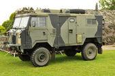 Militaire vrachtwagen — Stockfoto