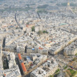 Paris - aerial view — Stock Photo