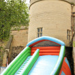 Bouncy castle - Stockfoto