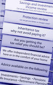 Tax financial advice — Stock Photo